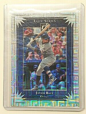 2019 Donruss Elite Series #ES6 Javier Baez Vector Parallel Card