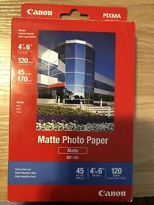 Canon Pixma Matte Photo Paper MP-101 New Pack of 120 Sheets