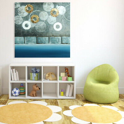 Abstract Hand Painted Canvas Oil Painting Modern Wall Art Home Decor Framed