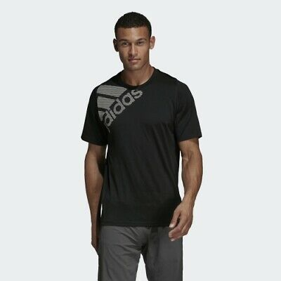 Adidas DU0902 Men Training Freelift BOS tee SS shirts black