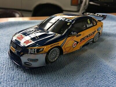 scalextric v8 super car richards ford no 6 used