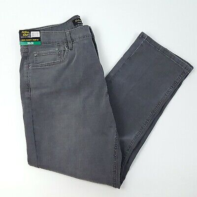 NWT Urban Star Mens 38X30 Gray Stretch Relaxed Fit Straight Leg Jeans