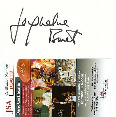 Entertainment Memorabilia Movies Debbie Allen Signed Autographed 3x5 Card Jsa Certified Fame A Great Variety Of Models
