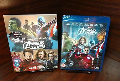 Marvel's Avengers Assemble (Blu-ray,Region Free)Collector Slipcover-NEW-Free S&H