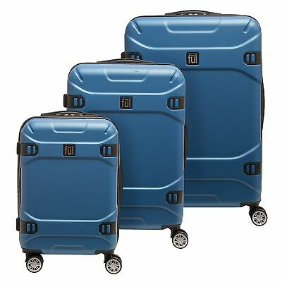 d4a3f06c18 Molded Detail Hard Sided 3 Piece Luggage Set, 29, 25, and 21in Suitcases