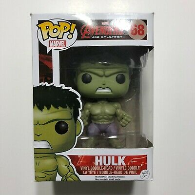 Brand New Funko Pop Marvel 68 Avengers Age Of Ultron Incredible Hulk