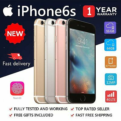 NEW iPhone 6S 16GB 64GB 4G LTE UNLOCKED SMARTPHONE ALL COLORS AU STOCK