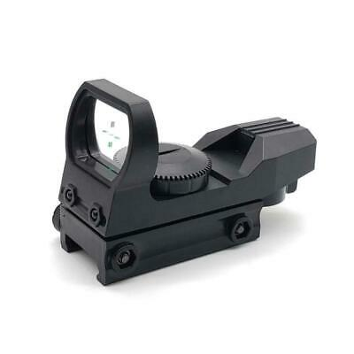 Tactical Holographic Red&Green Dot Sight Scope Reflex Reticle Fit 20mm Rail I9D0