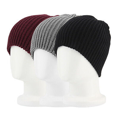 Hot Men Women Warm Oversize Beanie Skull Baggy Cap Winter Slouchy Knit Hat THX01