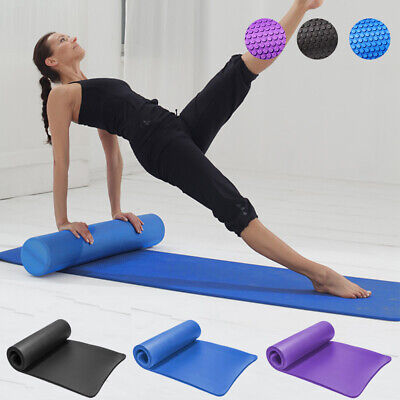 Physio EVA Foam Roller Back Exercise Yoga GYM Pilates Mat Pad NBR Fitness NEW