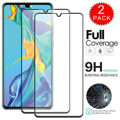 For Huawei P30 Pro - 3D Curved Tempered Glass Film Screen Protector [2-Pack]