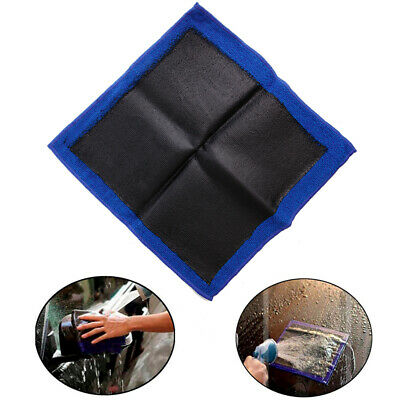 "Clay Bar Microfibre Mitt Cloth Towel Auto Car Detailing 12""x12"" Cleaning Cloth"