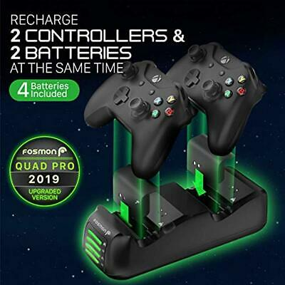 Upgraded Dual Controller Quick Charge Dock Station Battery Pack for Xbox One S X