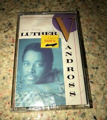 LUTHER VANDROSS ~ ANY LOVE ~ Album Audio Cassette ~ NEW FACTORY SEALED