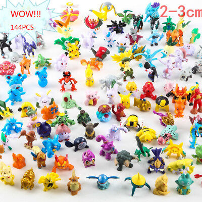 New 144PCs Wholesale Lots Cute Pokemon Mini Random Pearl Figures Kids Toys US