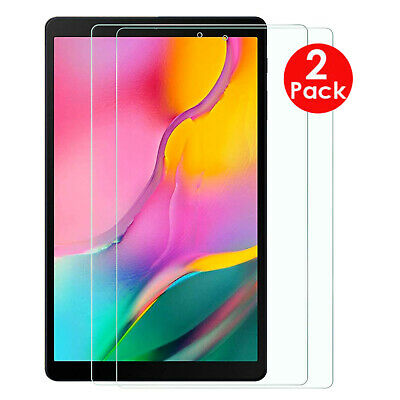 "2X Tempered Glass Screen Protector Samsung Galaxy Tab A 2019 10.1"" SM-T515/T510"