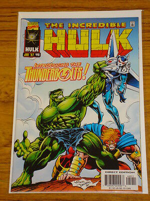 Incredible Hulk #449 Vol1 Marvel Com Intro Thunderbolts New Movie January 1987