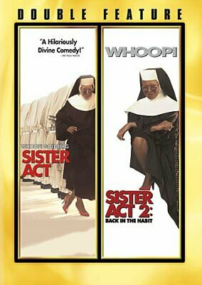 Sister Act / Sister Act 2 - Back in the Habit (DVD, 2-Disc Set) NEW