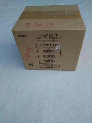 Original Genuine SEALED BOX NEC NP01LP Projector Lamp Made by NEC