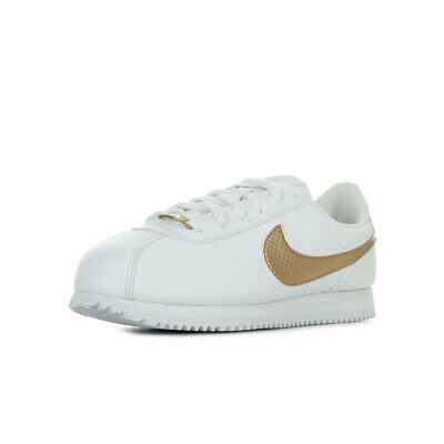 best service 31f9e 29ef6 Chaussures Baskets Nike fille Cortez Basic SL EP (GS) taille Blanc Blanche