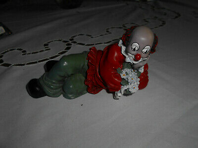 GILDE-CLOWN liegend, 14 cm