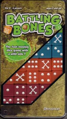 Pressman Boardgame Battling Bones Box NM