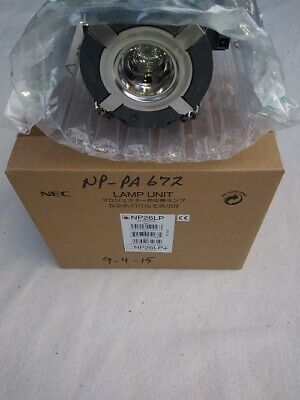 Original Genuine  NEC NP26LP Projector Lamp Made by NEC Open Box