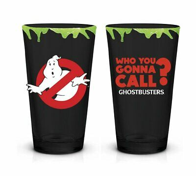 Ghostbusters Logo Who You Gonnal Call Pint Glass