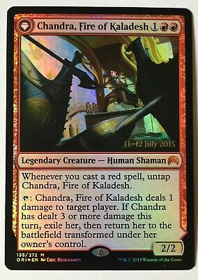 MTG - Chandra, Fire of Kaladesh - Pre-release foil - Origins