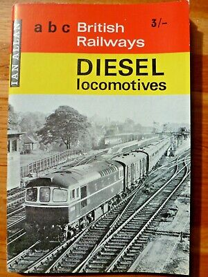Ian Allan abc British Railways Diesel Locomotives 1965