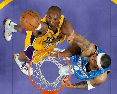 Kobe Bryant Los Angeles Lakers Dunk UNSIGNED 8X10 Photo