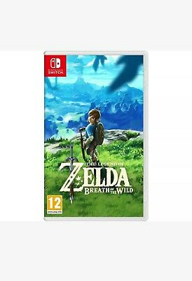 Nintendo Switch The Legend Of Zelda Breath Of The Wild Game,Brand New & Sealed.