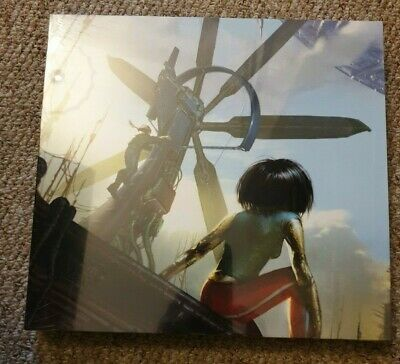 Alita Battle Angel Art of Making the Movie Book signed by Robert Rodriguez