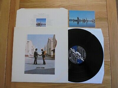 Pink Floyd Wish You Were Here Uk 1St Htm Press Vinyl Lp Exc+ Top Vinyl, Vg+ Slv!