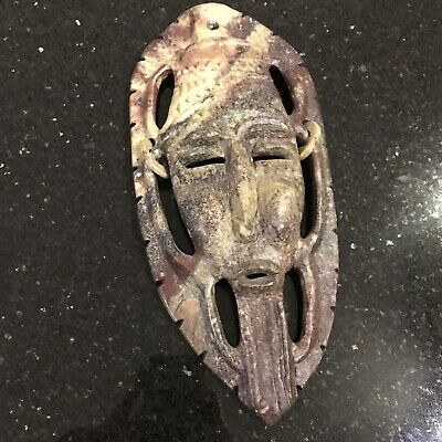Antique African Moroccan Tribal Wall Mask