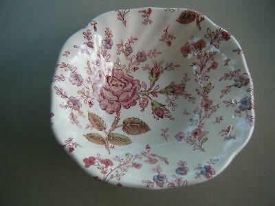 "EUC Johnson Brothers ROSE BOUQUET 6 1//4/"" Cereal Bowl s"