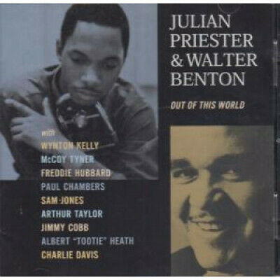 JULIAN PRIESTER AND WALTER BENTON Out Of This World CD Europe Milestone 2001 13