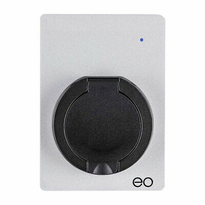 EO EM002-DCL eoMINI EV Charger 7.2kW/32A Basic Socket - Silver - DCL
