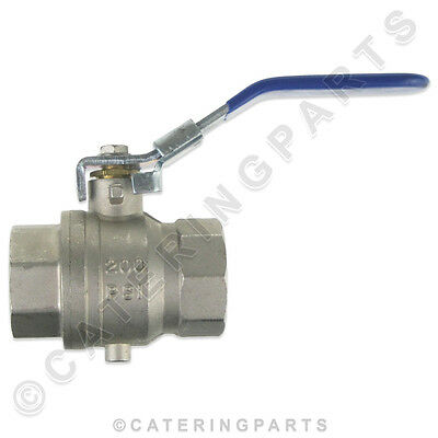 Genuine 018358 Blue Seal Moffat Gas Fryer Oil Drain Valve Vee-Ray Gt45 Gt46 Gt60
