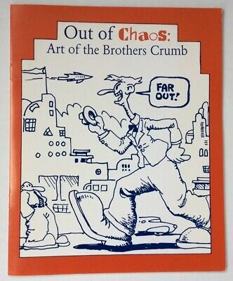 Out Of Chaos: Art Of The Brothers Crumb Book Paintings By Charles, Robert, Maxon
