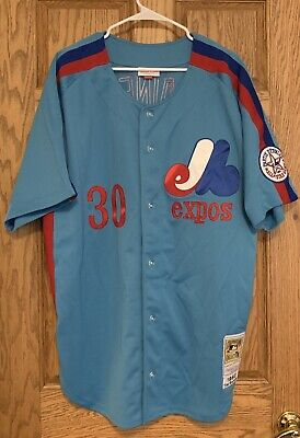 b1fc2bed Tim Raines Authentic 1982 Montreal Expos Mitchell & Ness Jersey Size 52 2XL