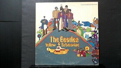 THE BEATLES ~ YELLOW SUBMARINE LP ~ CAPITOL SW-153 Stereo