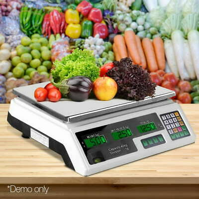 Benchtop Scale 40Kg Electronic Digital Counting Weight Kitchen Shop Scale LCD