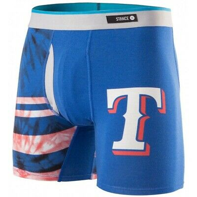 b9e24474561d STANCE MLB Texas Rangers The Basilone Men's Boxer Briefs Size Small 28-30