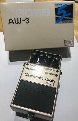 Boss AW-3 Dynamic Wah Pedal - Excellent Condition