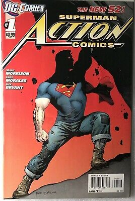 ACTION COMICS #1 2ND PRINT VARIANT COPY - Additional Lots Ship Free