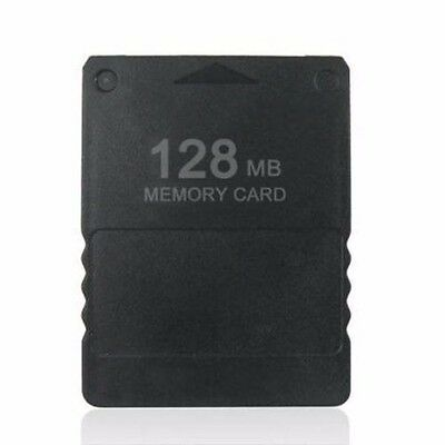 128MB Megabyte Memory Card Data For PlayStation 2 PS2 Slim Game Console