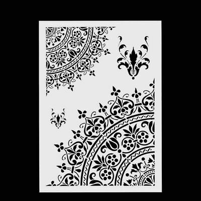 DIY Craft Layering Stencils Template For Walls Painting Scrapbooking Stamping