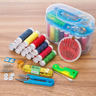 12 Colors Thread Home Sewing Kit Sewing Needles and Sewing Thread Set M2F9