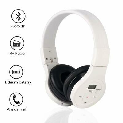 NEW  Wireless FM Radio Headset Active Noise Canceling 4 in 1 Bluetooth Headphone